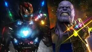 Ironman infinity stones