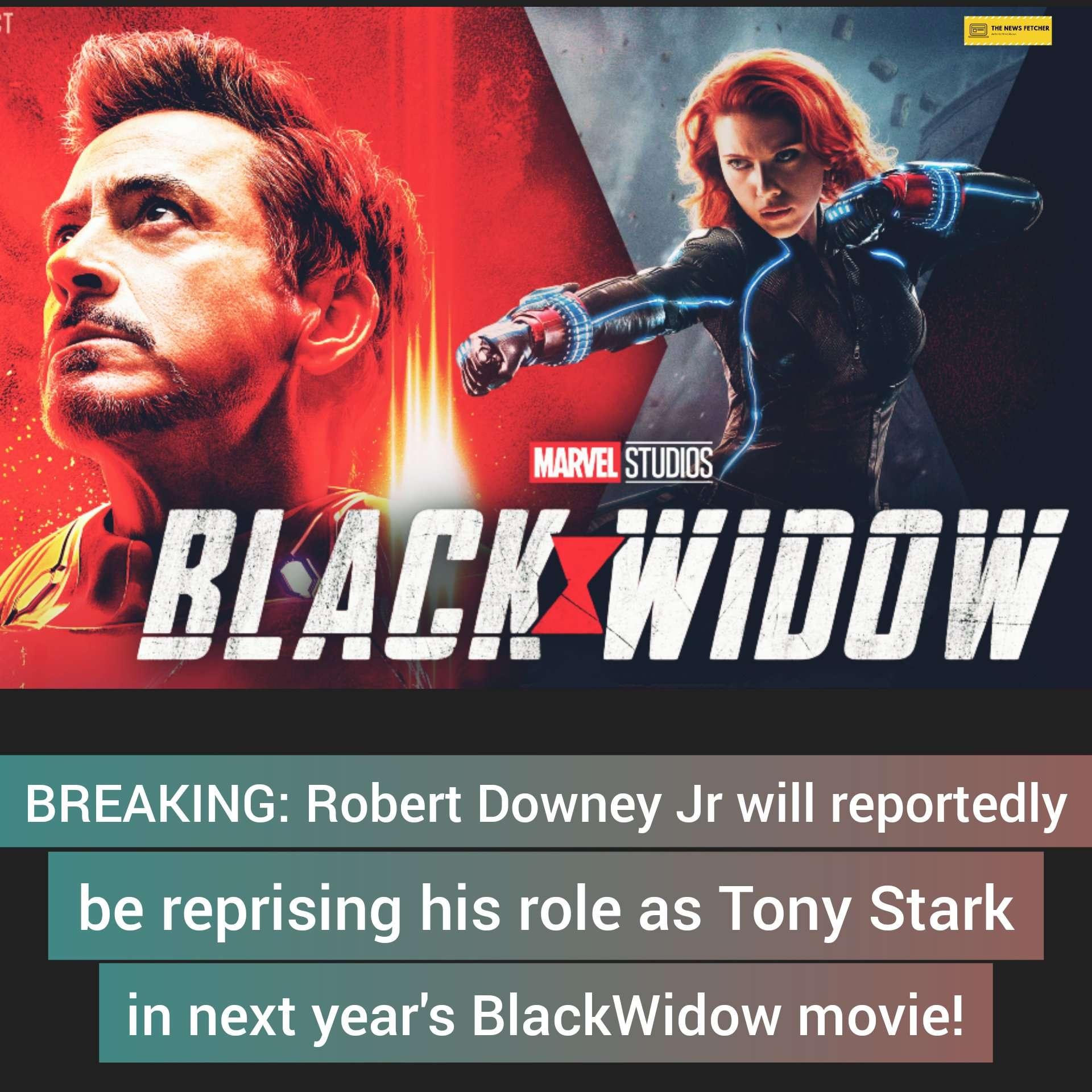 Tony Stark to return in Black Widow