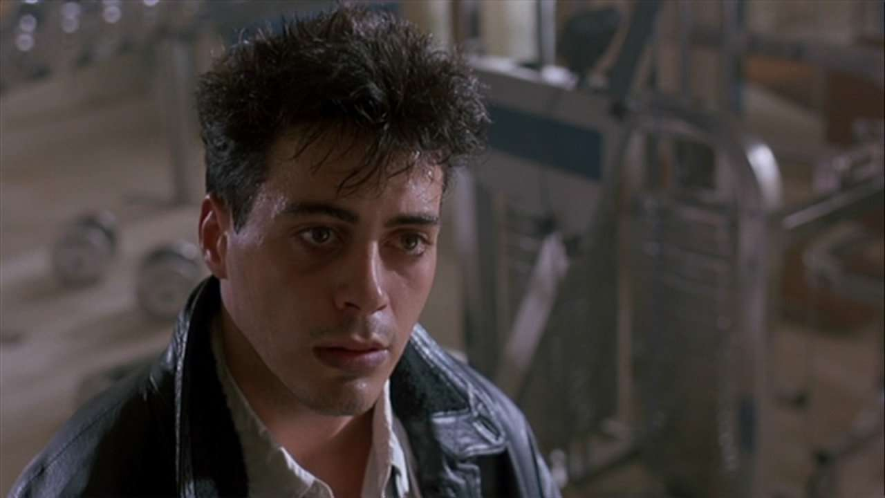 Robert Downey Jr in Less Than A Zero