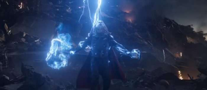 Thor Wielding Mjolnir and Strombreaker