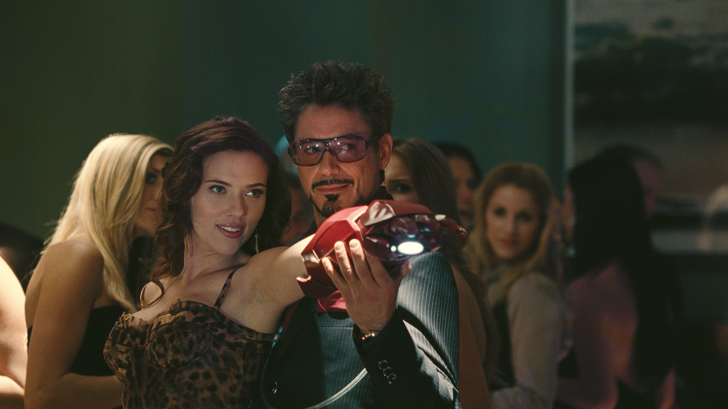 Tony Stark and Natasha