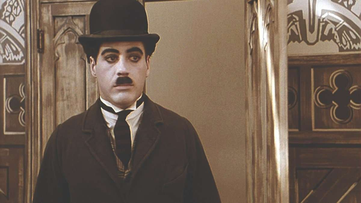 Robert Downey jr in Chaplin Movie 1992