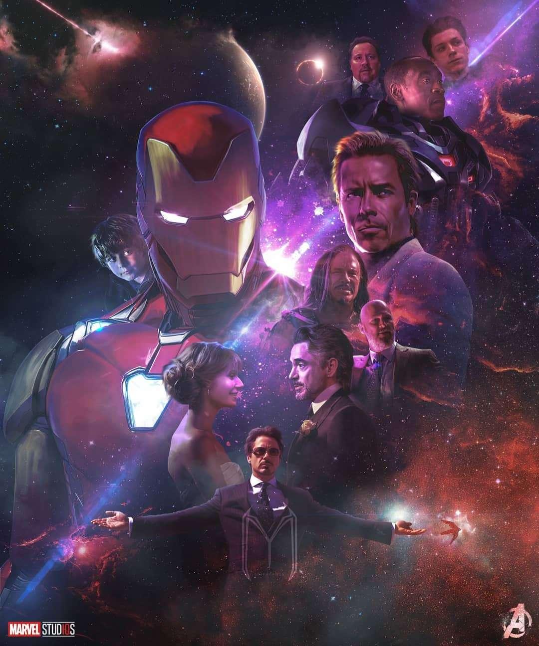 Ironman Endgame Poster