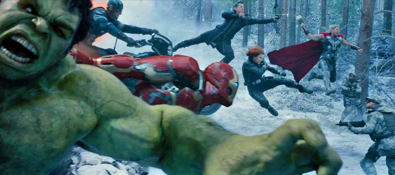Opening Scene of Age of Ultron