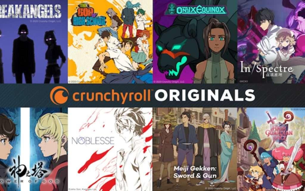 crunchyroll original shows