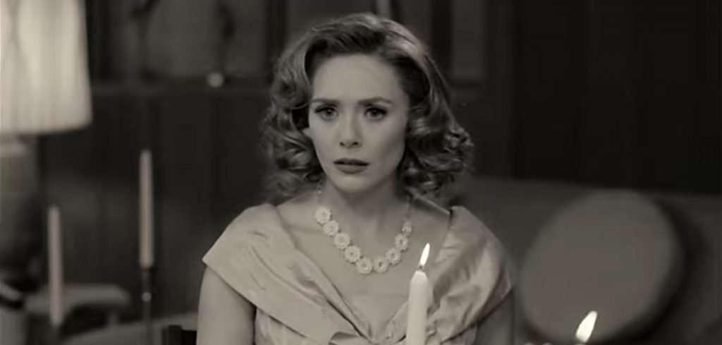 Elizabeth Olsen in WandaVison